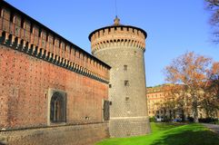 Building architecture of old castle Stock Photography