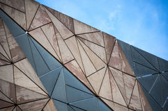 Building architecture pattern in Melbourne Stock Photography