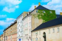 Building Architecture Vine Copenhagen Denmark Royalty Free Stock Photography