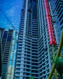 The building in the area of bekasi royalty free stock photos