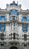 The building in Art Nouveau style, Riga Stock Photography