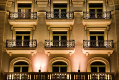 Building At Night Royalty Free Stock Image