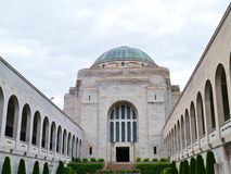 The building of the Australian War Memorial Stock Photo