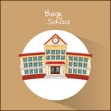 Building of back to school design Royalty Free Stock Photography