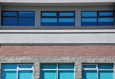 Building background. Macro shool building in Canada Royalty Free Stock Photo