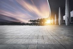 Building background. Modern building background in city Royalty Free Stock Photography
