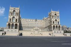Building in Baku Royalty Free Stock Images