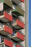 Building and balconies, Royalty Free Stock Image