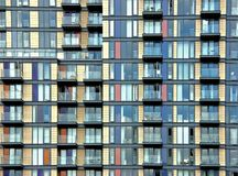 Building with balconies Stock Images