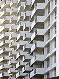 Building Balconies Royalty Free Stock Images
