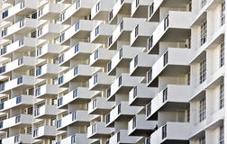 Building Balconies Royalty Free Stock Photos
