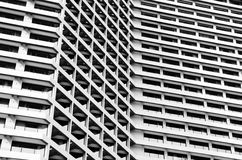 Building with balconies Royalty Free Stock Photo