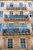 Building with balconies Stock Image