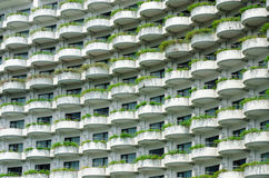 Building with balconies Royalty Free Stock Photos