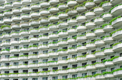Building with balconies Royalty Free Stock Photography