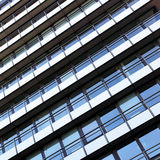 Building with balcony Royalty Free Stock Photography