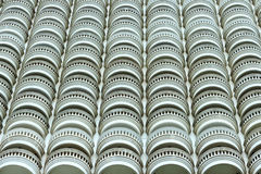 Building balcony. Royalty Free Stock Images