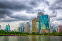 Building in Bangkok. Royalty Free Stock Photo