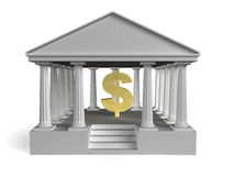 Building-Bank Royalty Free Stock Image
