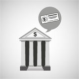 Building bank economy money check Stock Photography
