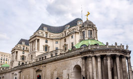 Building of the Bank of England Stock Images