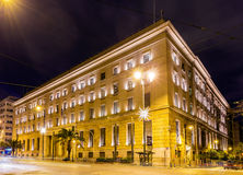 Building of the Bank of Greece Royalty Free Stock Photo