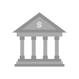 Building bank money finance. Illustration eps 10 Royalty Free Stock Photography