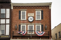 Building in Bar Harbor, Maine Stock Image