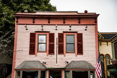 Building in Bar Harbor, Maine Royalty Free Stock Image