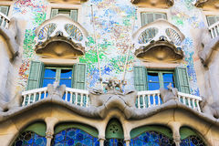 Building in Barcelona Royalty Free Stock Image