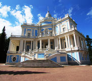 The building in baroque style. The building in the baroque style of st. petersburg Stock Image