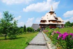 Building of Barsana monastery. From Maramures - Romania Royalty Free Stock Photos