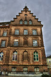 Building in Basel HDR Royalty Free Stock Image