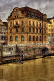 Building in Basel HDR Royalty Free Stock Images
