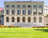 Building in Bastions park,Geneva, Switzerland Stock Photos