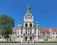The building of the Bavarian National Museum in Munich, Germany Royalty Free Stock Photo