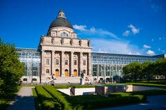Building of Bavarian state government Stock Image