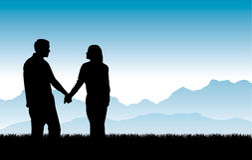 Building Beautiful Relationships Vector Stock Photos