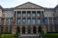 Building of Belgian Federal Parliament Royalty Free Stock Images