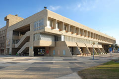 Building of Ben Gurion University in Beer Sheva Royalty Free Stock Image