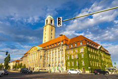 Building of Berlin-Spandau Town Hall Rathaus Spandau, Germany Stock Photography