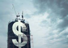 Building big dollar Stock Photos