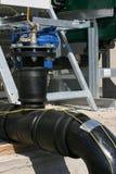 Building of bio gas plant  valve 1 Stock Photos