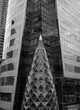 Building in Black and White a Royalty Free Stock Photography