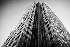 Building Black and white Royalty Free Stock Photos