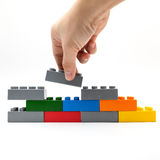 Building block Royalty Free Stock Image