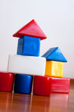 Building Block House Royalty Free Stock Photography