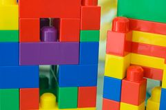 Building Blocks 02. A children building blocks toy. Can be used for building blocks of a nation concept. More in my gallery Royalty Free Stock Image
