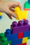 Building Blocks 03. A children building blocks toy. Can be used for building blocks of a nation concept. More in my gallery Stock Photography