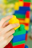 Building Blocks 04. A children building blocks toy. Can be used for building blocks of a nation concept. More in my gallery Royalty Free Stock Images